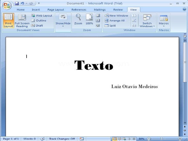 Texto    Luiz Otavio Medeiros