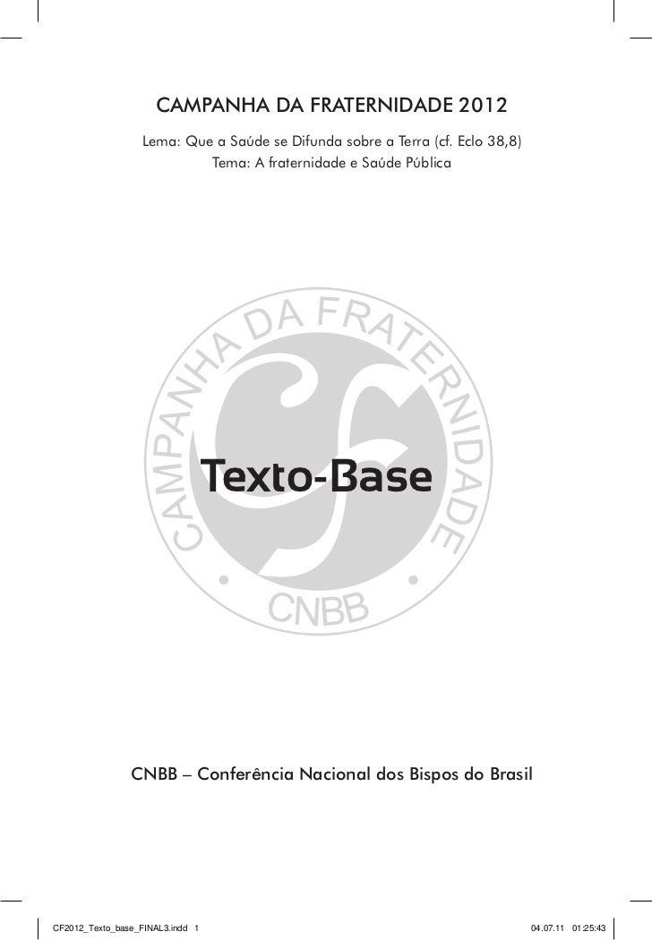Texto base cf 2012