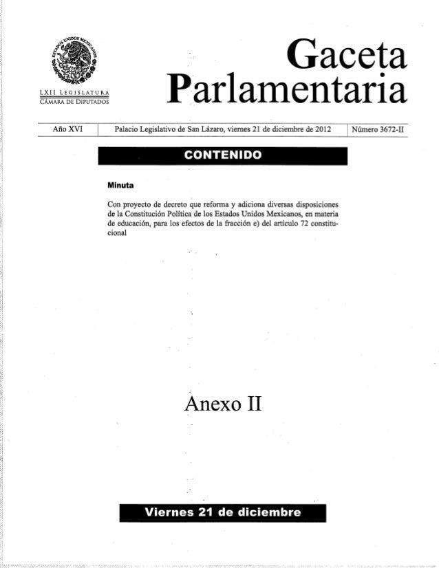 Texto de Reforma Educativa