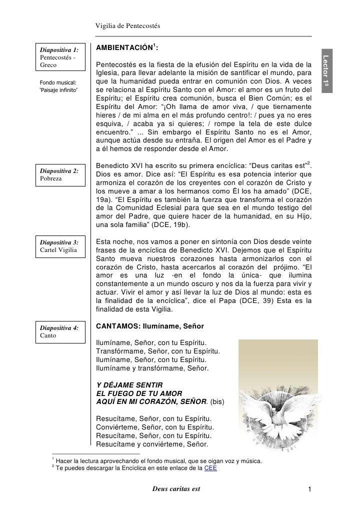 Vigilia de PentecostésDiapositiva 1:         AMBIENTACIÓN1:Pentecostés -                                                  ...