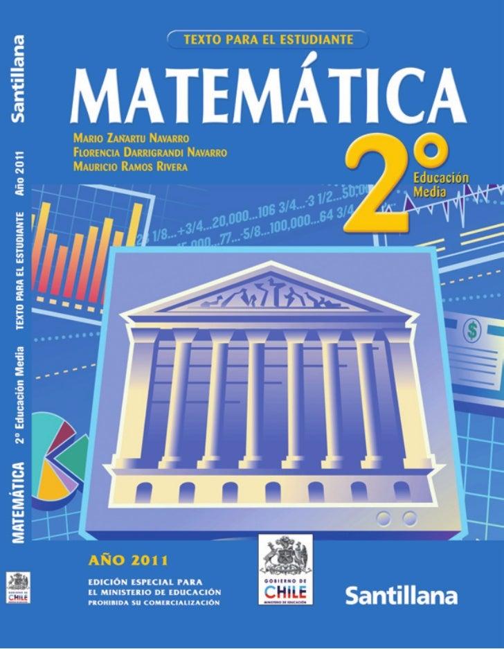 Texto de matemática 2012
