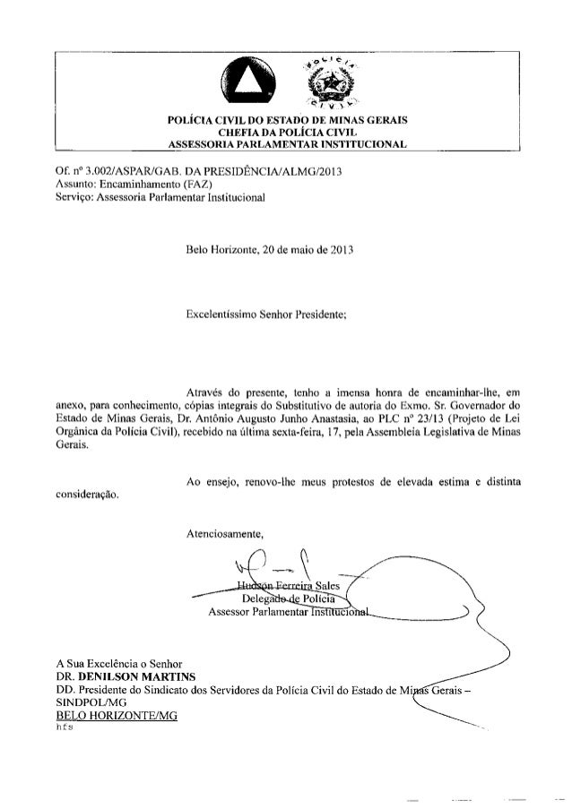 Texto final lei orgânica pcmg 3871-1