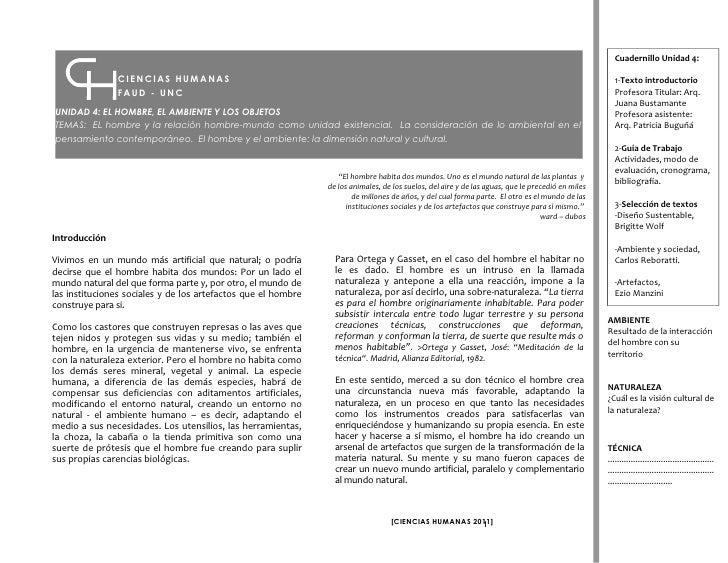 Cuadernillo Unidad 4:               CIENCIAS HUMANAS                                                                      ...