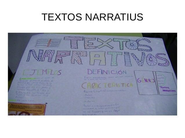 TEXTOS NARRATIUS
