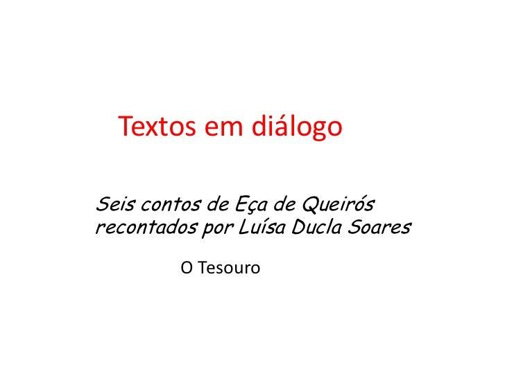 Textos em diálogo