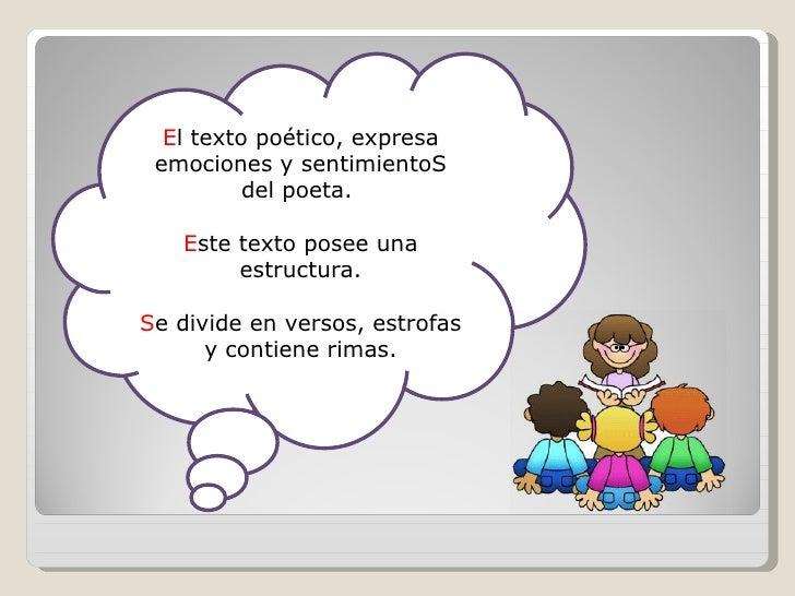 Textos informativos y poéticos View Image