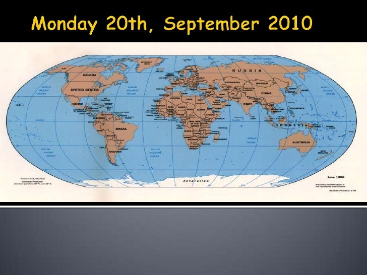 Monday 20th, September 2010<br />