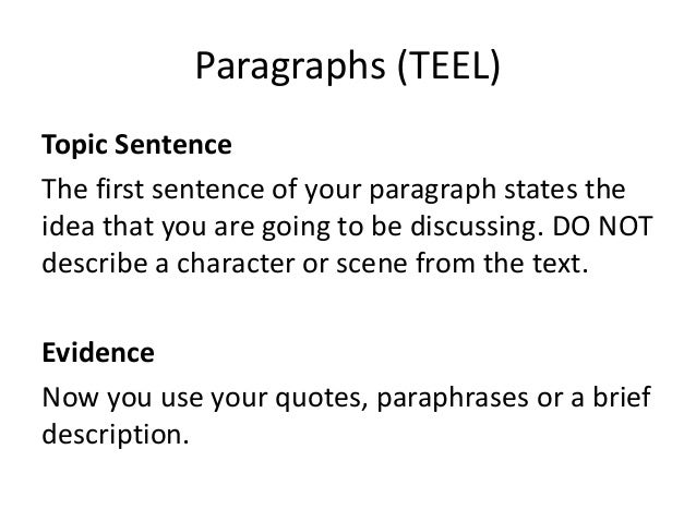 What's the structure to writing a text response essay?
