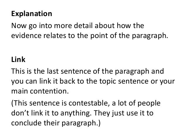 Contention english essay