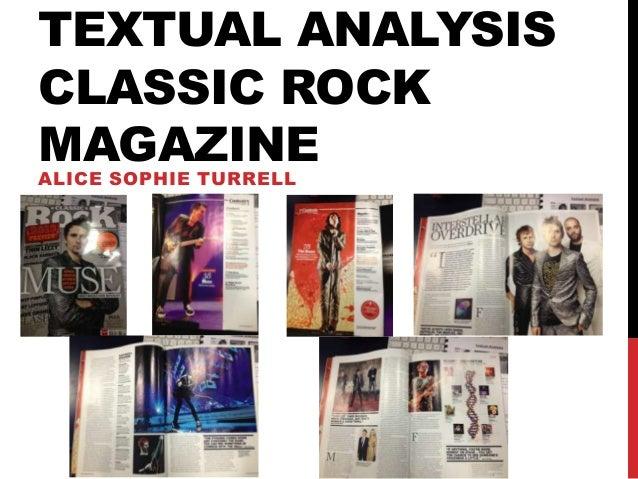 Textual analysis of classic rock 2