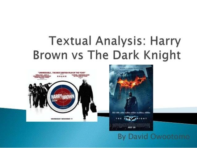 Textual analysis Presentation