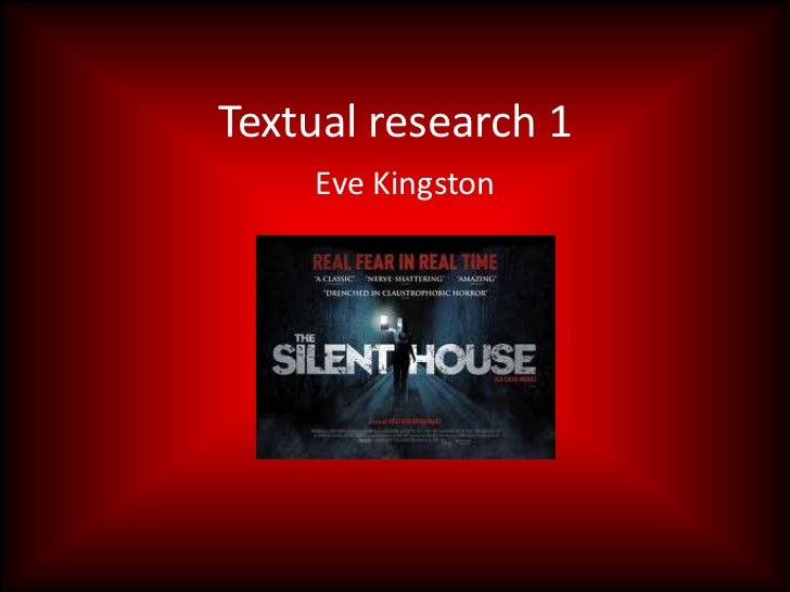 Textual research 1    Eve Kingston
