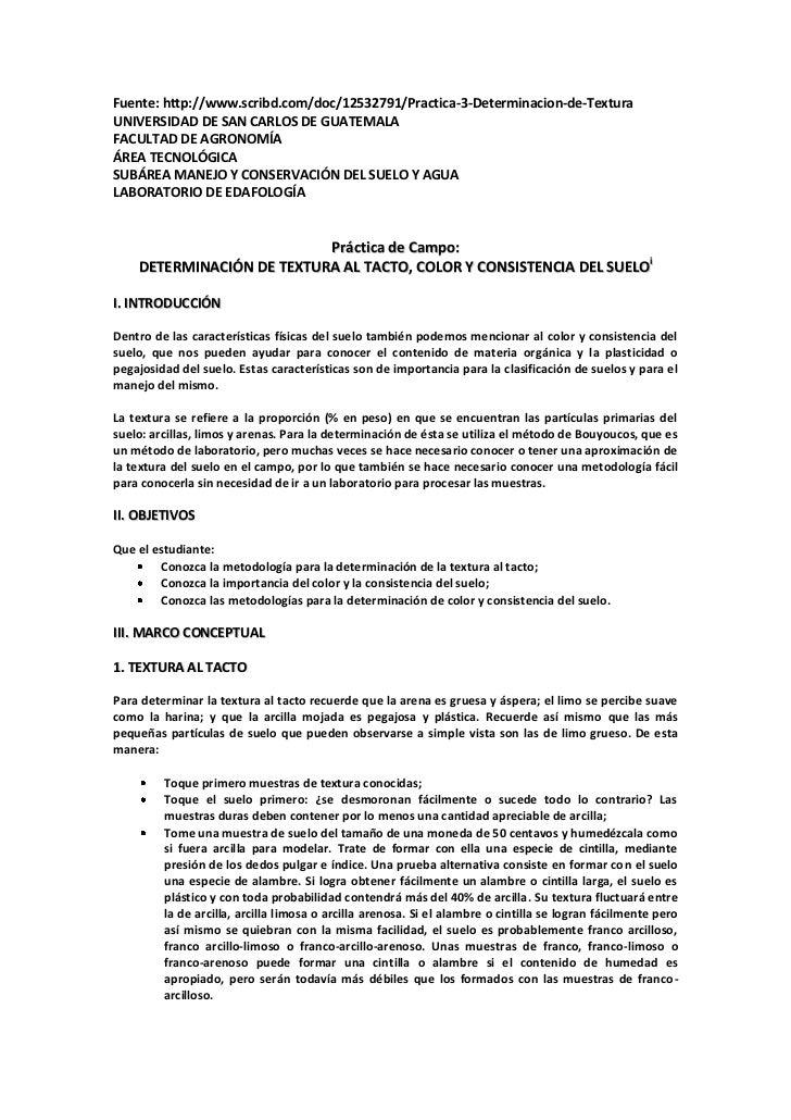 Fuente: http://www.scribd.com/doc/12532791/Practica-3-Determinacion-de-TexturaUNIVERSIDAD DE SAN CARLOS DE GUATEMALAFACULT...