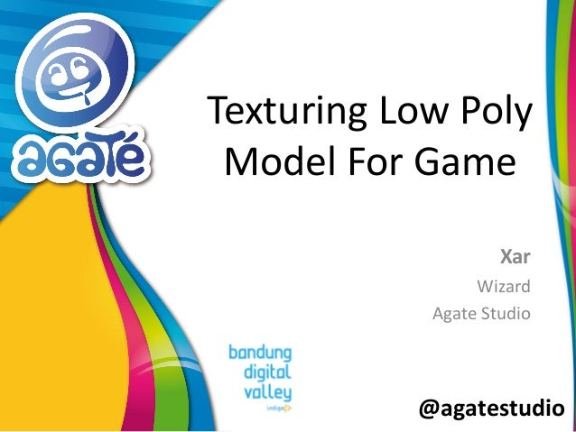 @agatestudio Texturing Low Poly Model For Game Xar Wizard Agate Studio