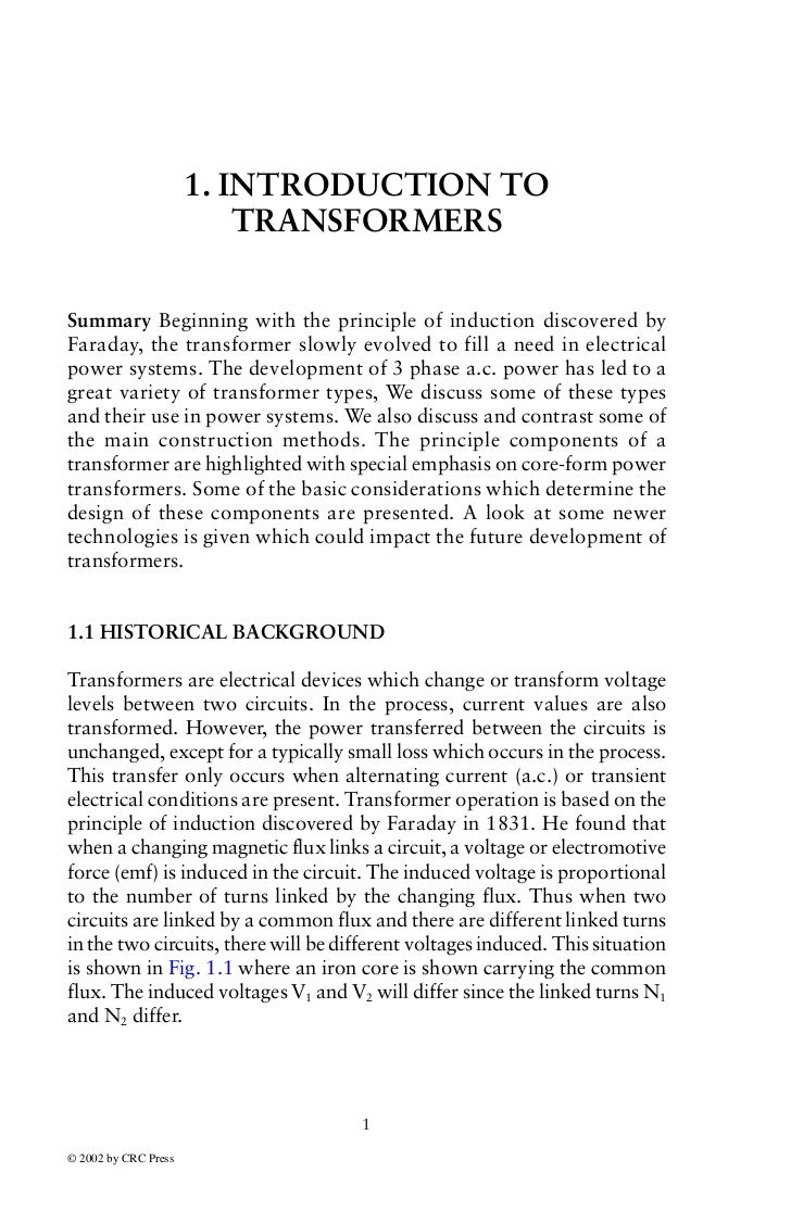 Chp 1 Intro to Transformers