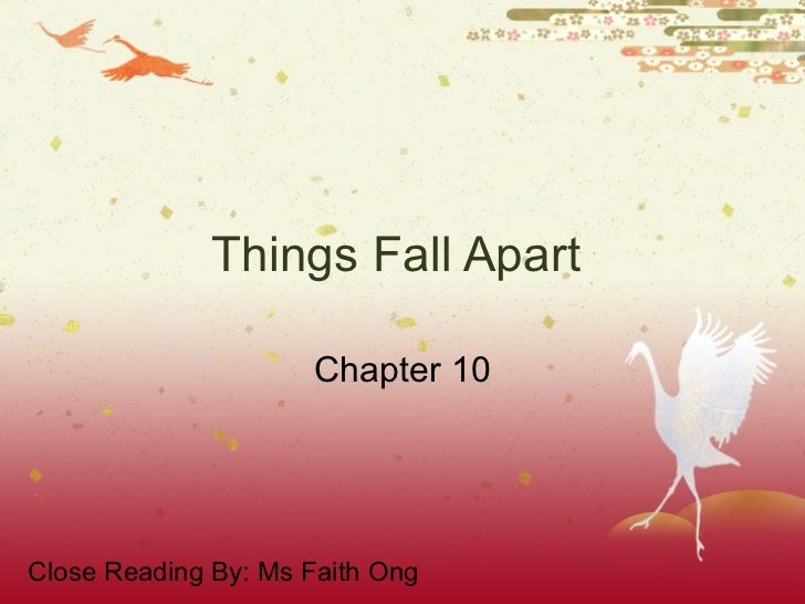 ... Things Fall Apart Chapter Summary 1 Through 13 \\ Home \ Things Fall  Apart: