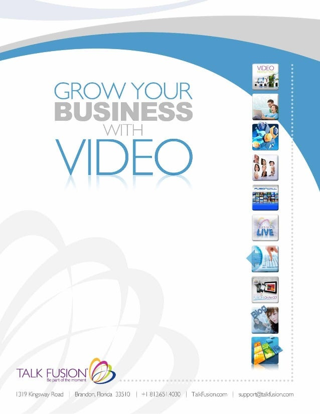 Tf Grow Your Business With VIDEO