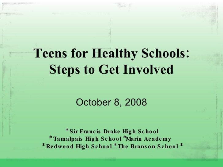 Tfhs Steps To Get Involved
