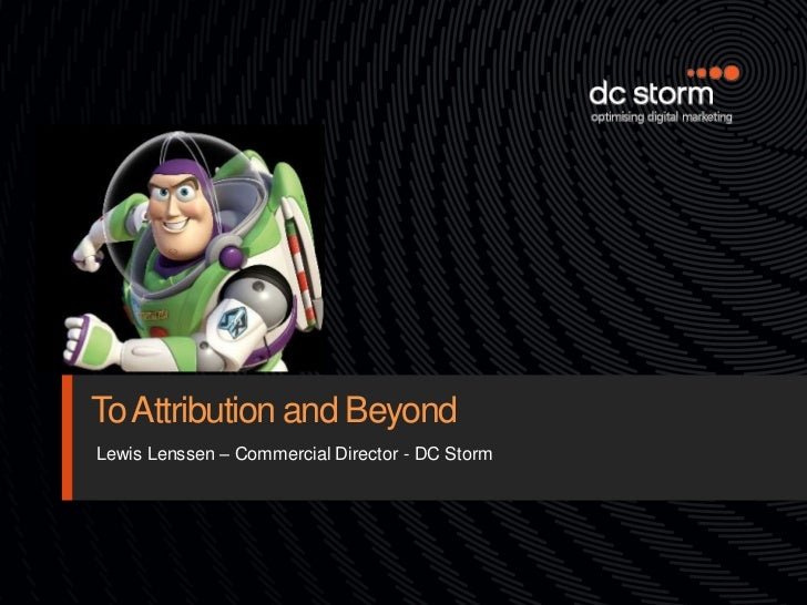 TfM&A - DC Storm: To Attribution And Beyond