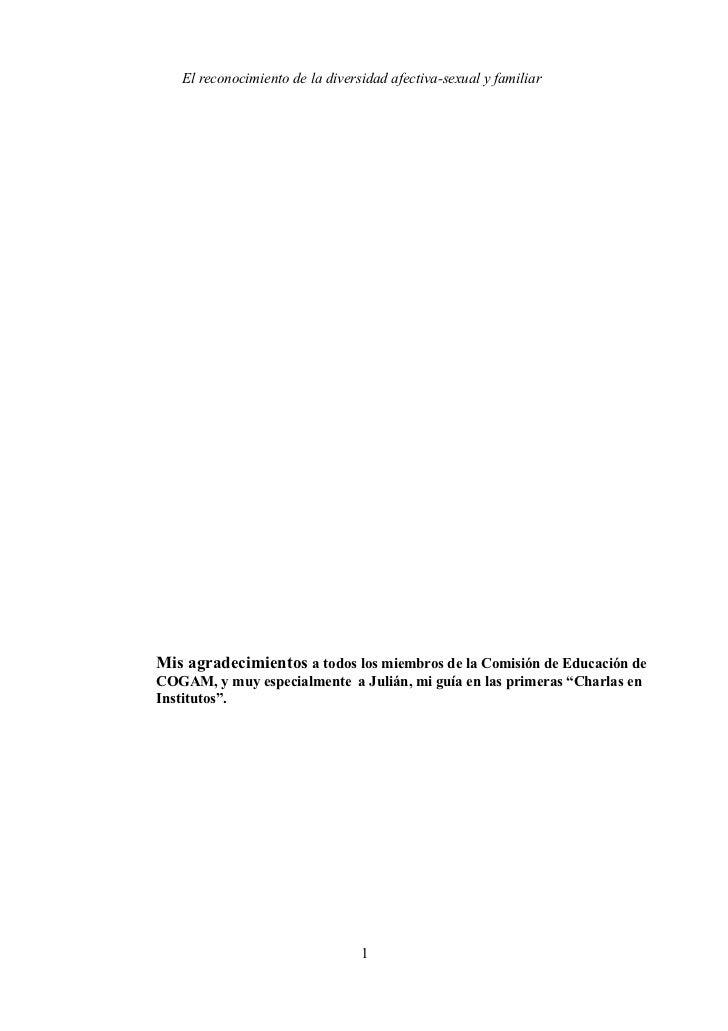 El reconocimiento de la diversidad afectiva sexual y familiar. por j uan carlos zamorano  31.01.2012. definitivo.