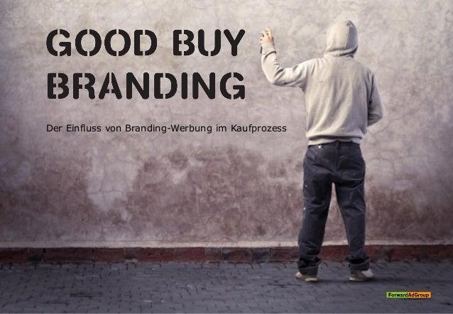 Der Einfluss von Branding-Werbung im Kaufprozess