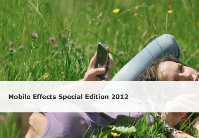 Mobile Effects Special Edition 2012