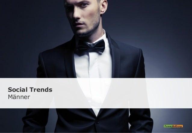 Social Trends Männer