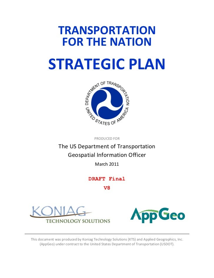 TFTN Strategic Plan Final Draft
