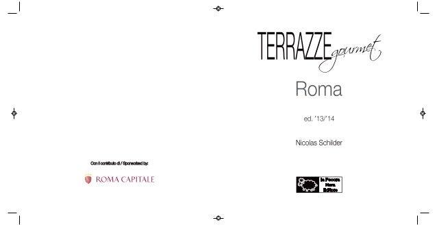 Terrazze Gourmet - Roma - ed. '13/'14
