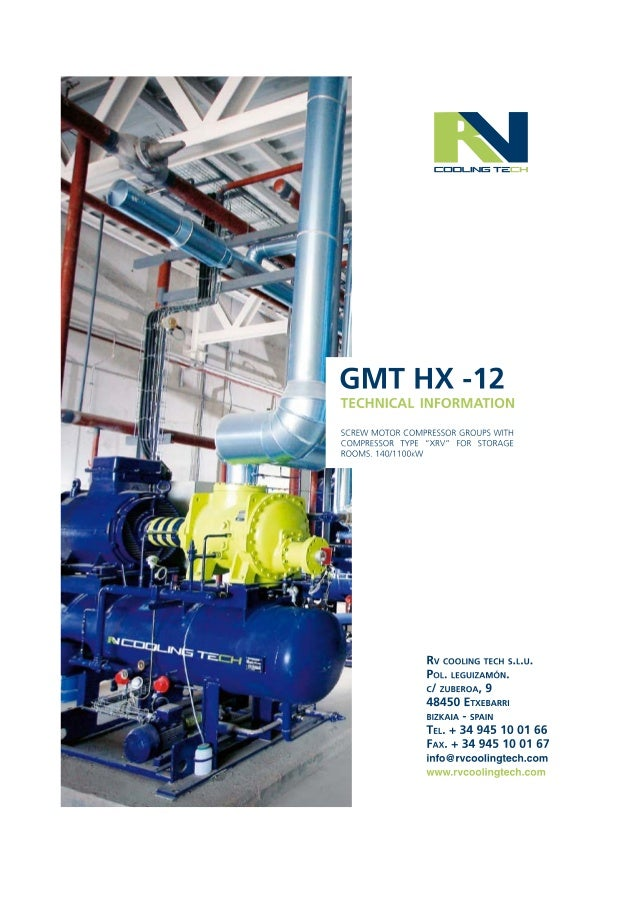 Technical Guide for Screw Compressor Packages easy definition HX -12