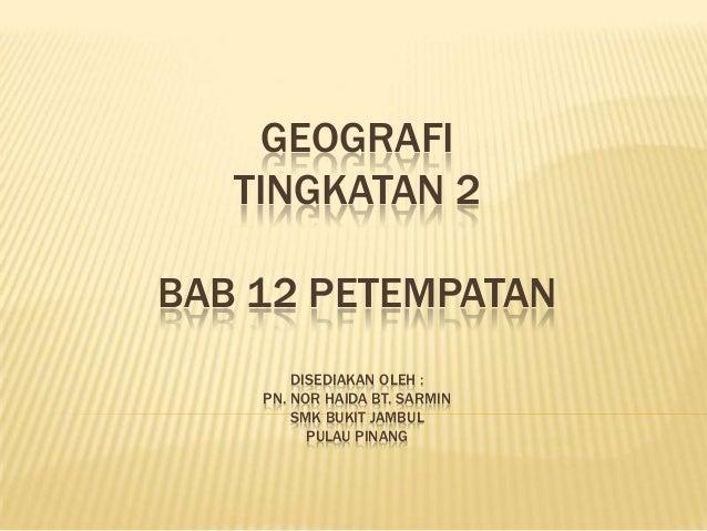Tg 2 bab12petempatan