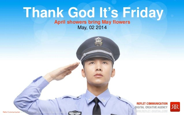 TGIF - May, 02 2014 - April showers bring May flowers!