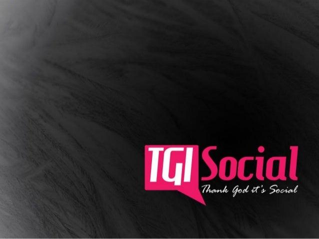 TGI SOCIAL                                                      Somos una agencia de                                      ...