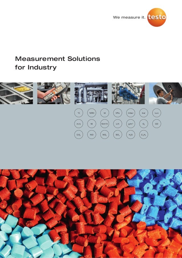 Measurement Solutionsfor Industry               °C     %RH     td      hPa    mbar    bar    Lux               m/s    Nl  ...
