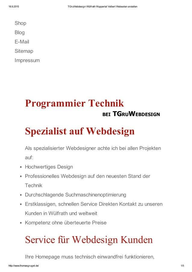 TGruWebdesign - more than Design