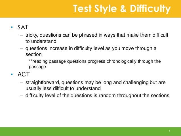 Is the SAT difficult?