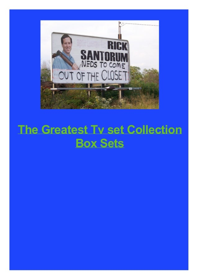 The Greatest Tv set Collection Box Sets