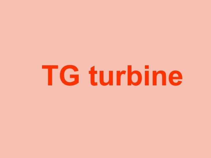 Tg turbine