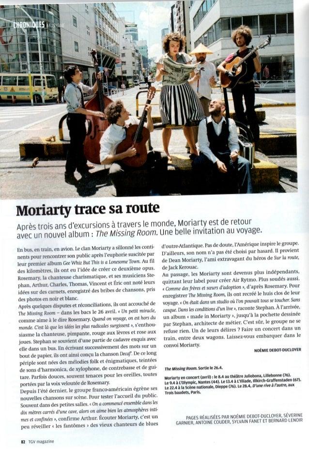 Articles TGV magazine