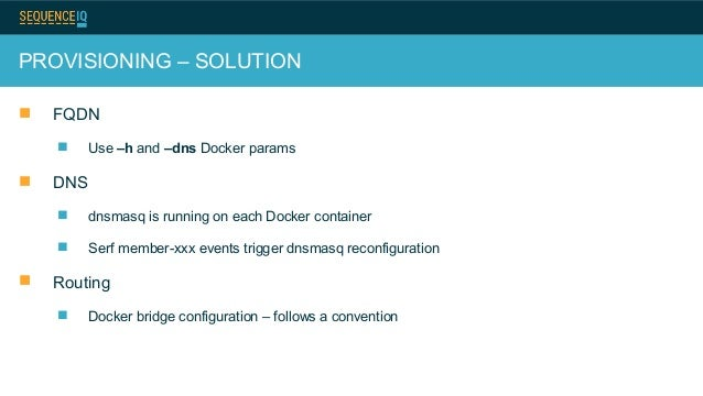 Docker based hadoop provisioning hadoop summit 2014 for Consul template docker
