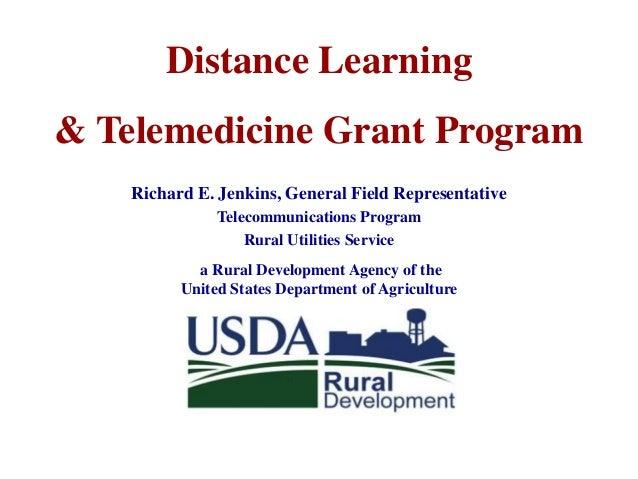 Distance Learning & Telemedicine Grant Program