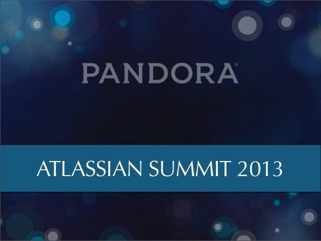 ATLASSIAN SUMMIT 2013