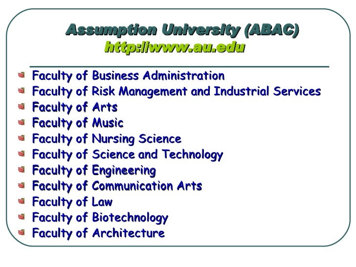ABAC - Job Opportunities