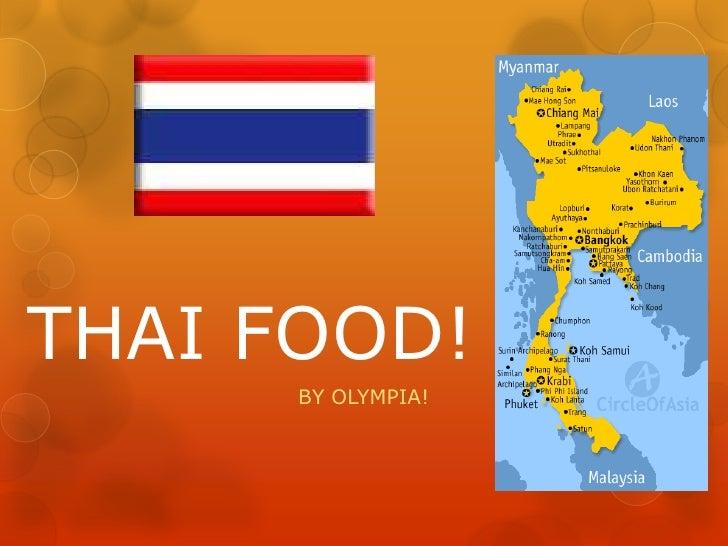 Thai food!