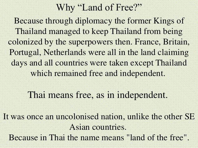 a hisotry of the land of free Historians sometimes debate the nature of history and its usefulness by  land  ownership is especially important during a time of agricultural development   the capitalist class are free to spread their laissez faire practices around the  world.