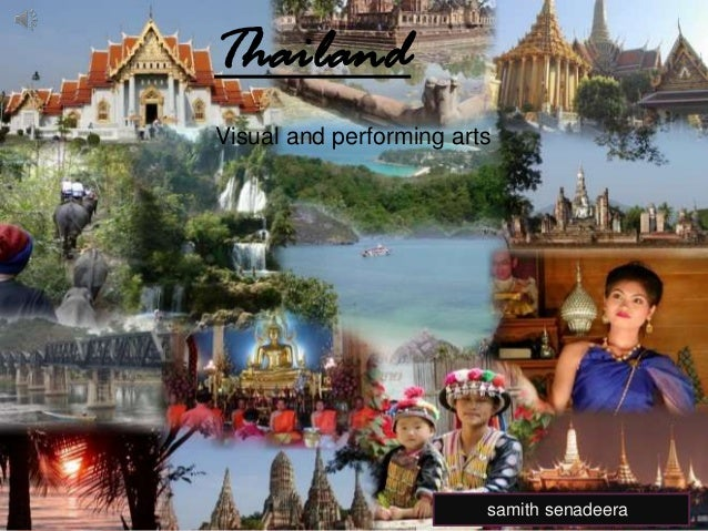 Thailand Arts and contemporary culture