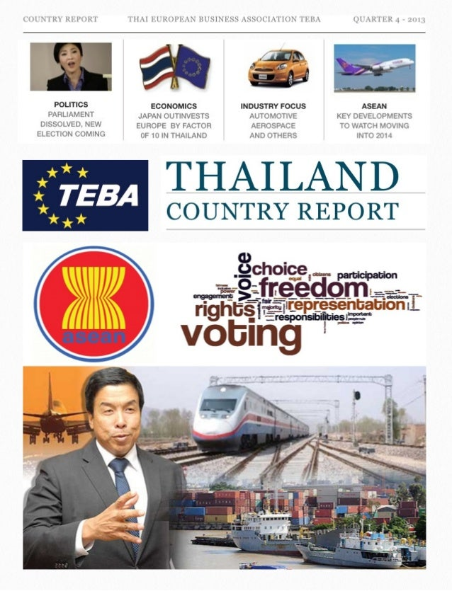 Thailand country report 2013 Q4