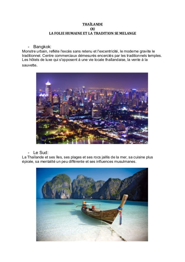 THAÏLANDE   OU   LA  FOLIE  HUMAINE  ET  LA  TRADITION  SE  MELANGE            - Bangkok: Monstr...