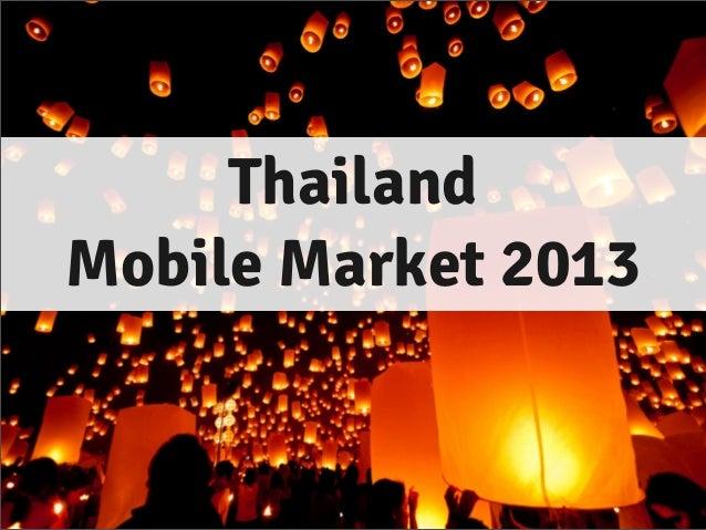 ThailandMobile Market 2013