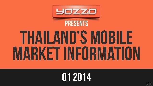 Thailands mobile market information Q1 2014